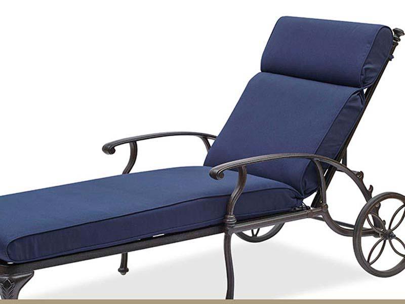 Navy Blue Patio Chair Cushions