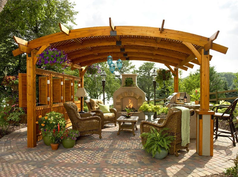 Outdoor Oasis Gazebo Netting