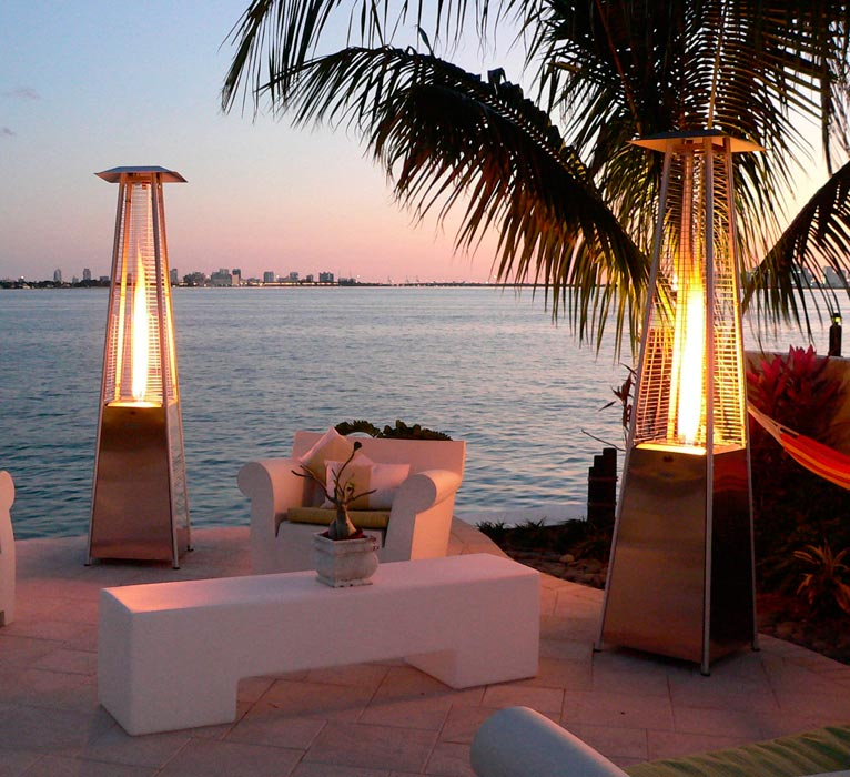 Outdoor Patio Flame Heater