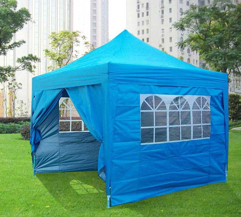 Pop Up Gazebo Blue