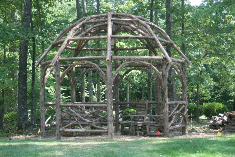 Rustic Gazebo Designs