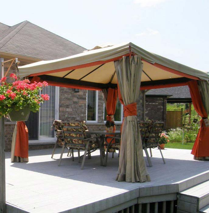 Backyard Gazebo Tent
