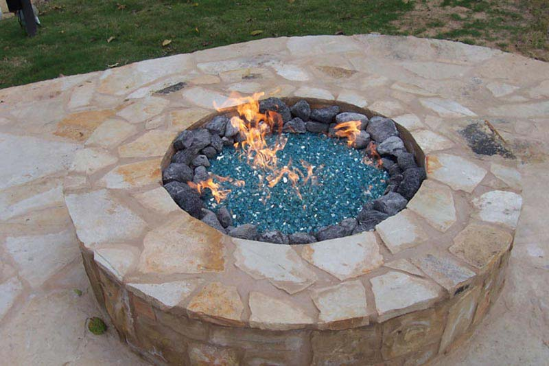 Fire Pit Glass Stones