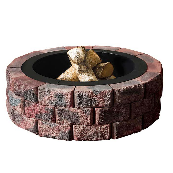 Fire Pit Kit Stone Lowes