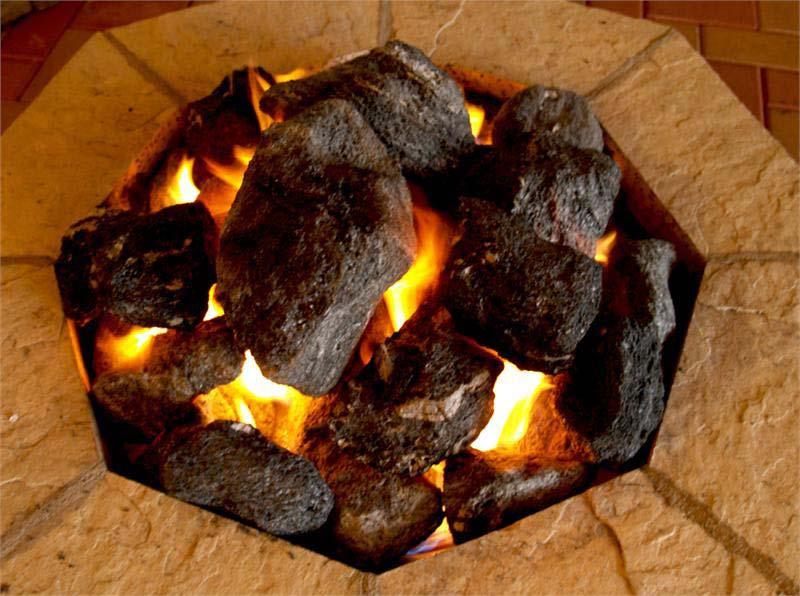 Fire Pit Lava Rock Stones
