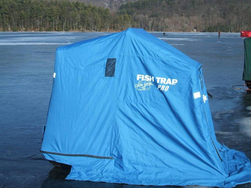 Pop Up Ice Shelter
