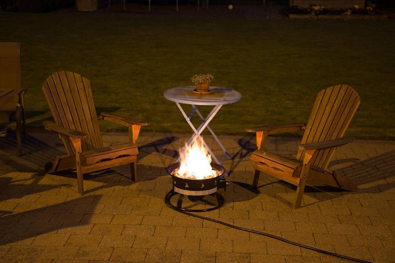 Portable fire pits are the thing these days