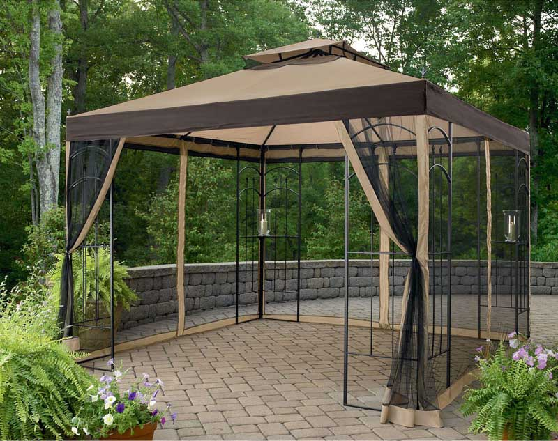 10X10 Gazebo Netting