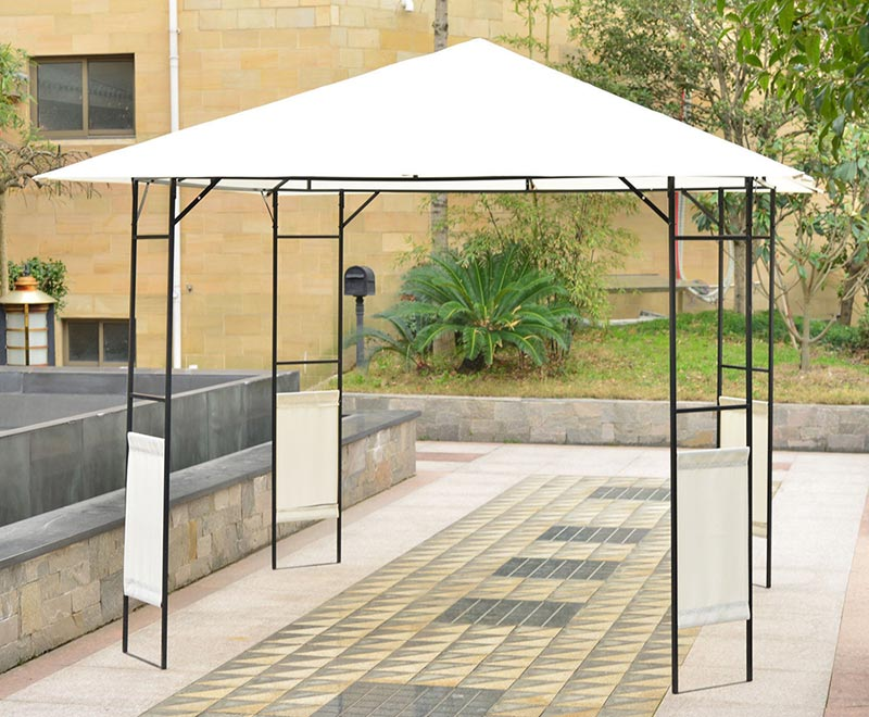 AIt is easy to build Steel gazebo
