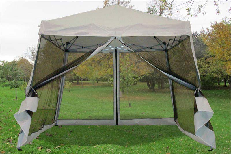 8 X 10 Gazebo With Netting