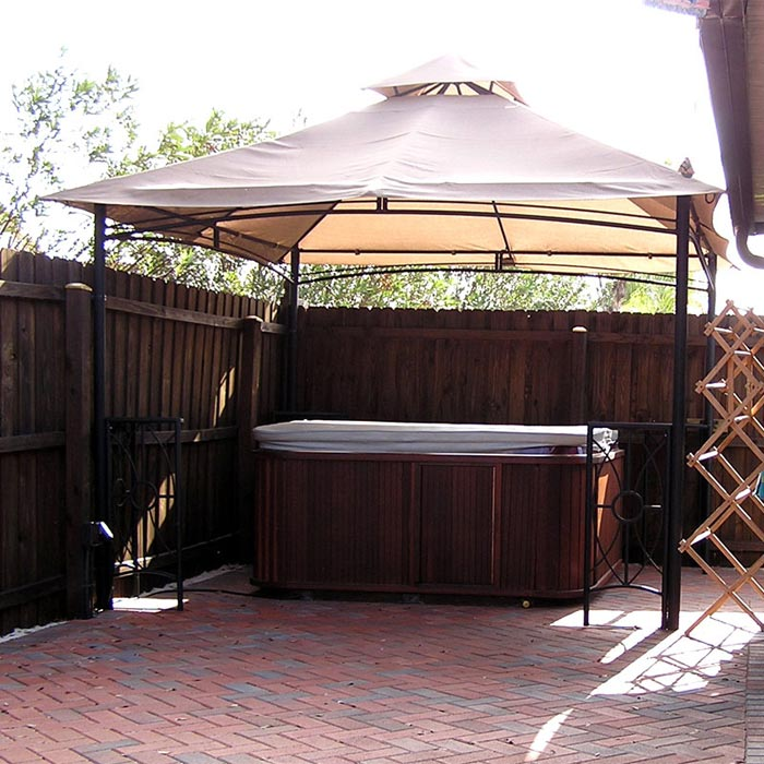 Garden Treasures Steel Gazebo