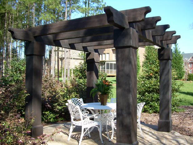 Get the best oak pergola