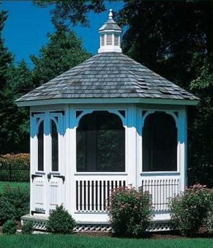 Small Screened Gazebo