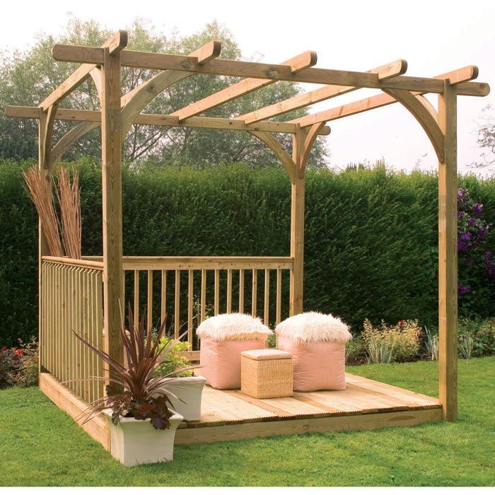 Small gazebo is found in different designs