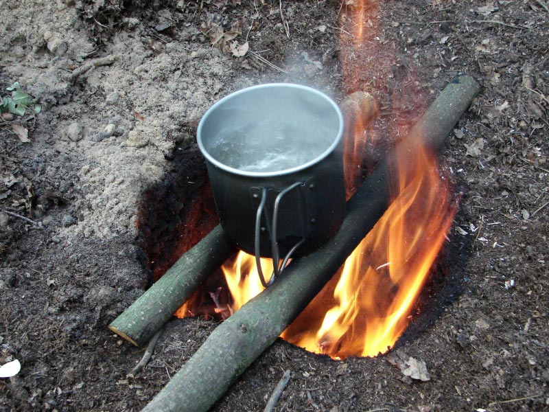 Dakota Fire Hole Cooking