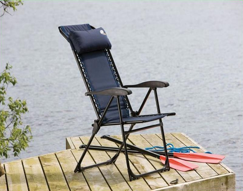 Folding Patio Recliner Chair