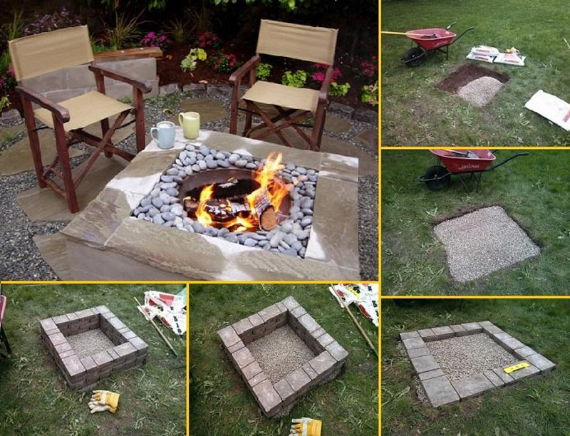 How To Build Inground Fire Pit