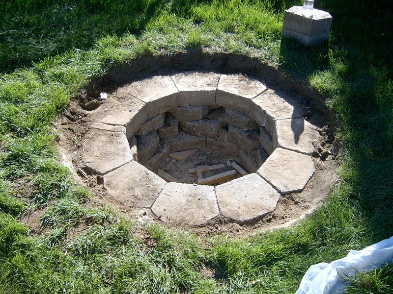 Inground Fire Pit