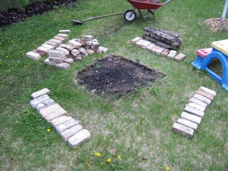 Dig in the ground with Inground fire pit
