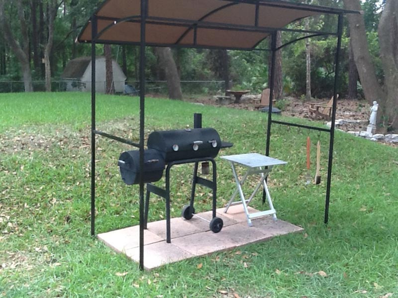 Bbq gazebo: considerations for the home parties