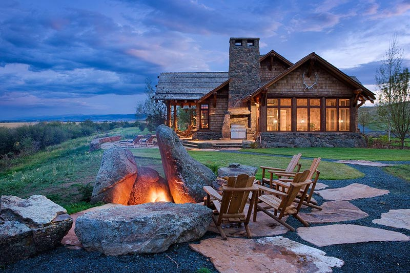 Outdoor Fire Pit Rocks