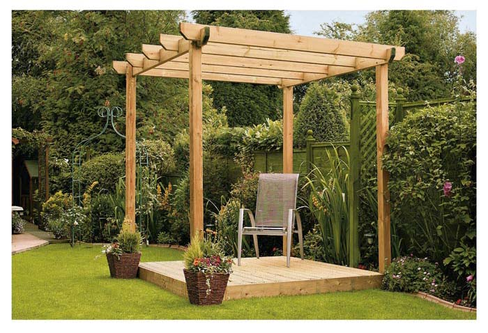 Lean-to Pergola: Popular And Practical Variant