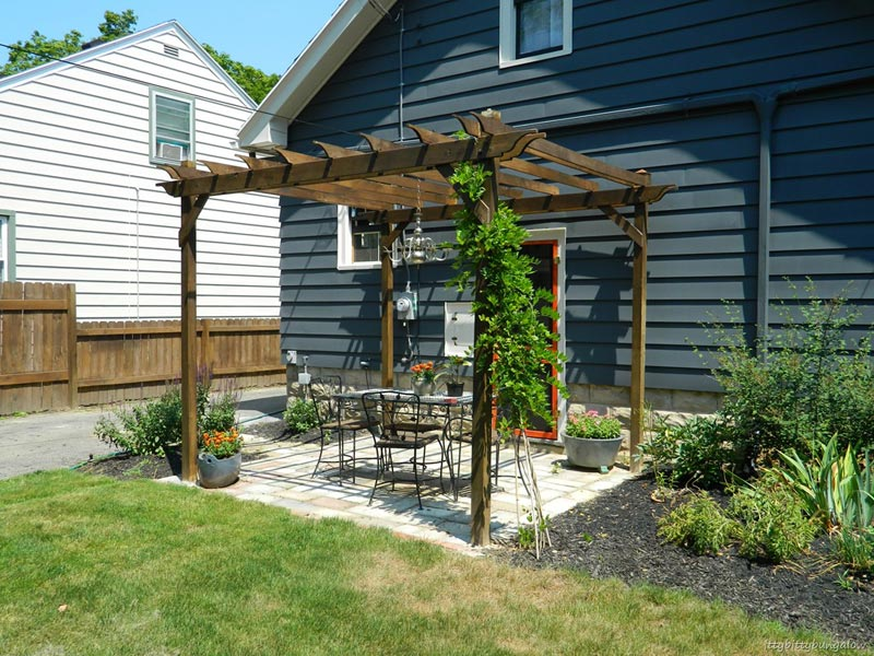 How To Build A Pergola Bunnings