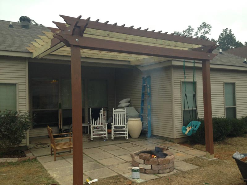 Pergola Build Your Own