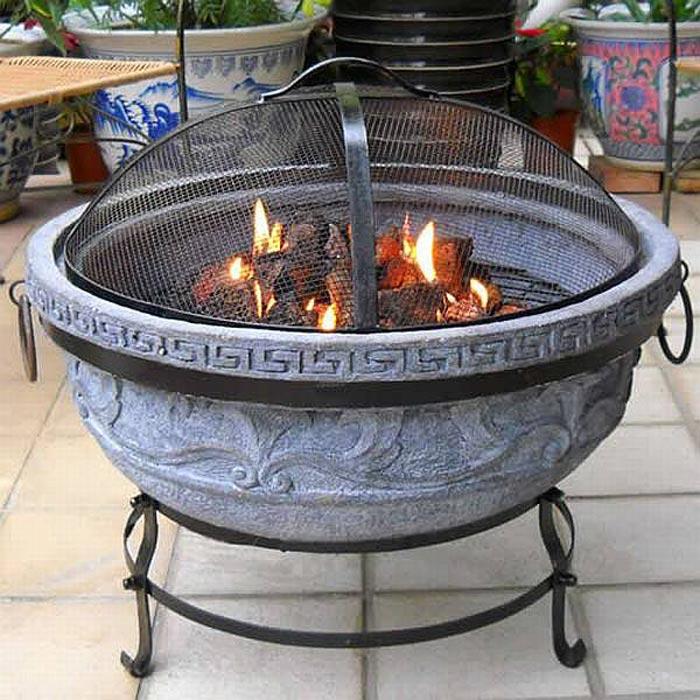 Ceramic fire pit home depot