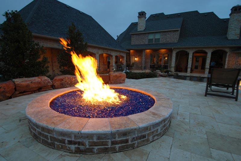 Fire pit glass rocks canada