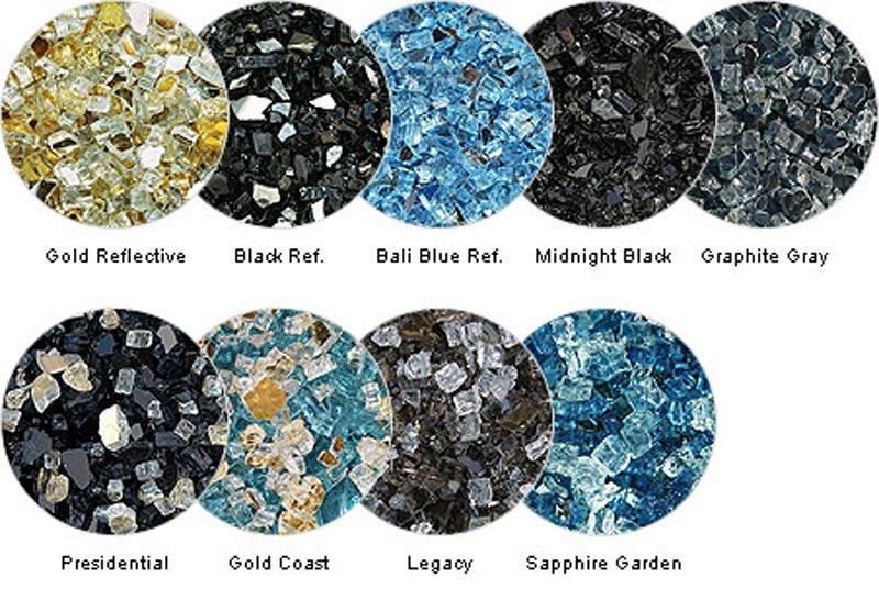 Fire pit glass rocks sale