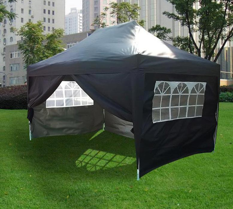 Large pop up gazebo with sides