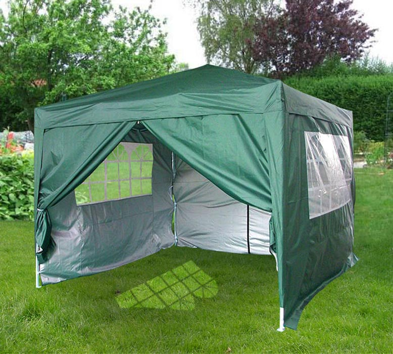 Small pop up gazebo with sides