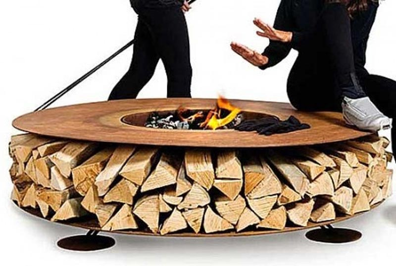 Cool Wood Burning Fire Pits