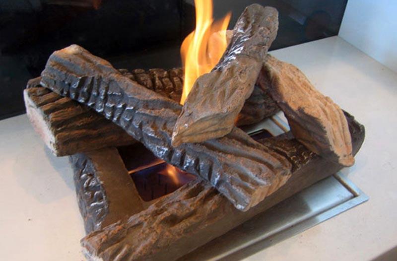 Fire Pit Artificial Logs