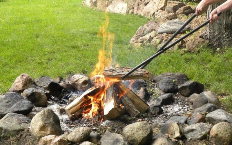 Fire Pit Logs For More Realistic And Enchanting Flames