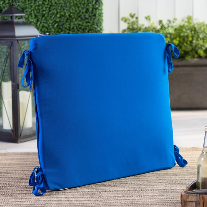 Outdoor replacement cushions 25 x 25
