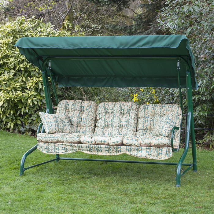 Patio Swing Replacement Cushions To Bring New Breath To Your Swing