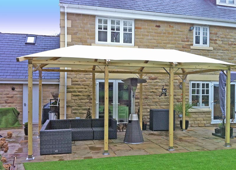 Permanent gazebo kits uk