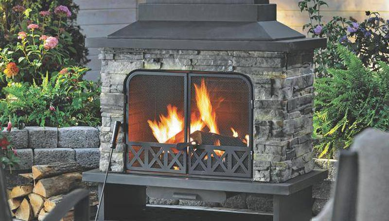 Canadian Tire Fireplace