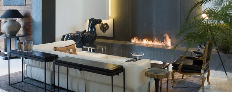 Ethanol Fireplace Insert Design
