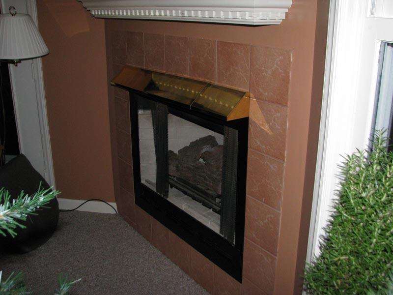 Fireplace Heat Deflector