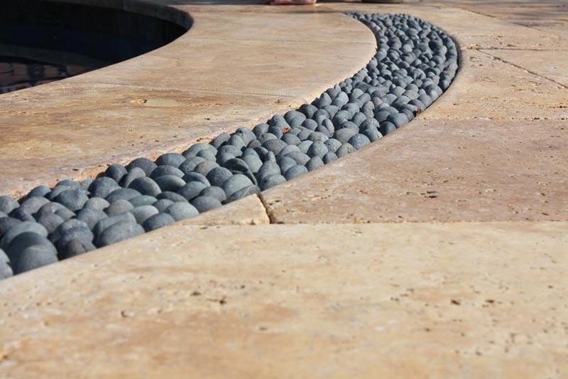 Patio drainage solutions edge
