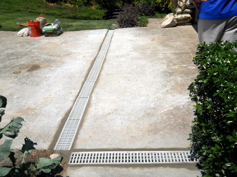 Patio drainage solutions expert