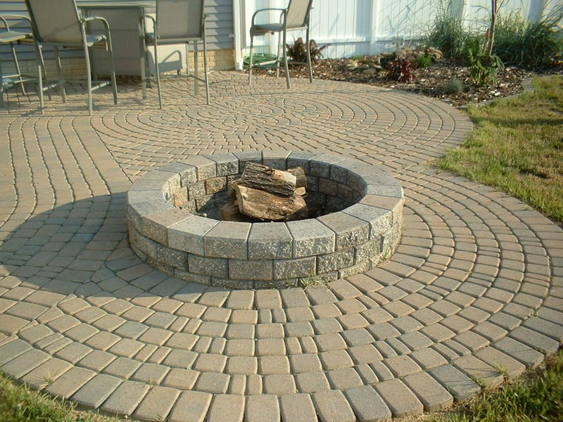 Patio fire pit at lowes