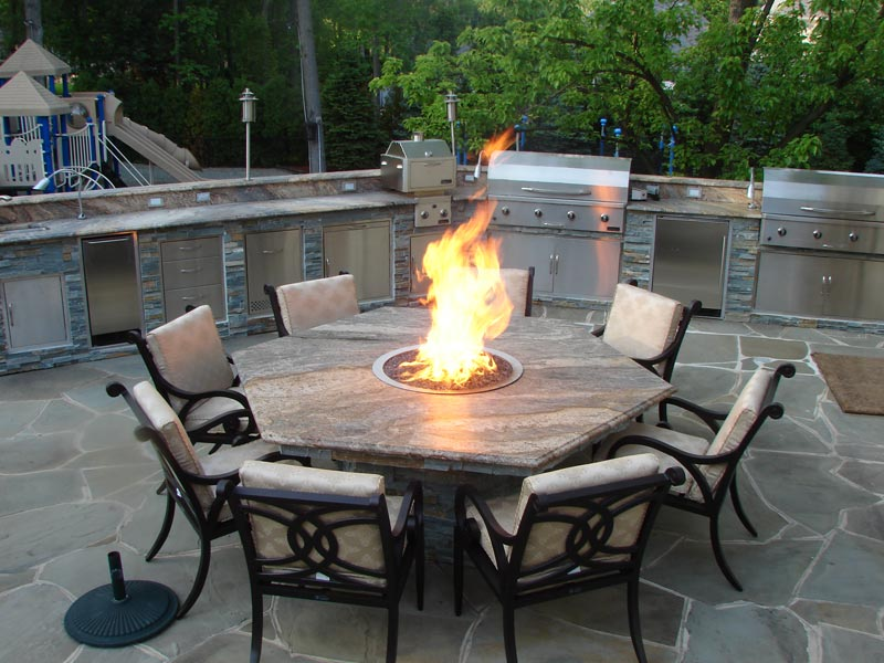 Better homes and gardens fire pit patio set