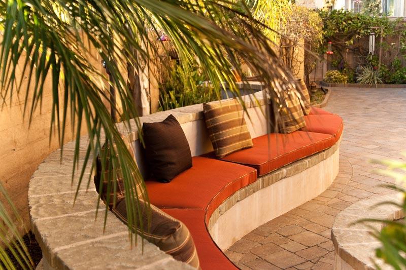Brick bench ideas color
