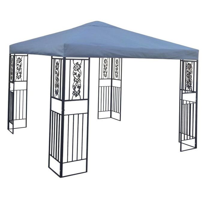 Metal frame gazebo kits
