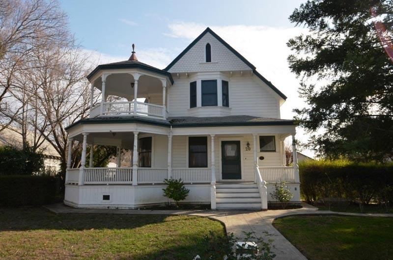 Victorian gazebo front porch