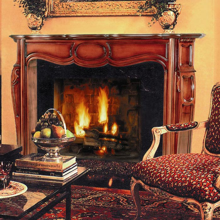 Antique Wood Fireplace Mantels And Surrounds